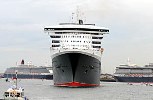 Cunard Three Ships