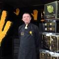 Gold Leaf Gardening Gloves exhibit