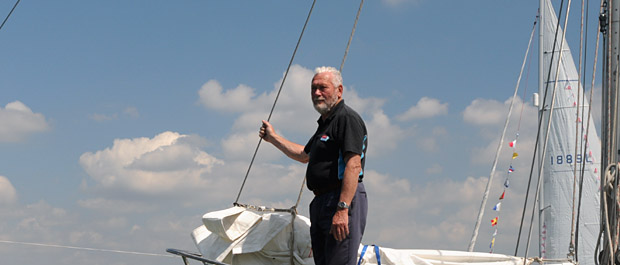 Sir Robin Knox-Johnston on Suhaili