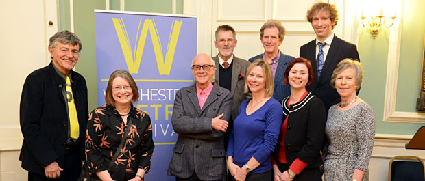Winchester Poetry Festival team
