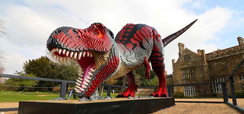 Tyrannosaurus rex - Brickosaurs at Marwell