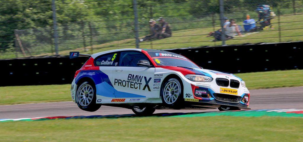 Rob Collard during qualifying