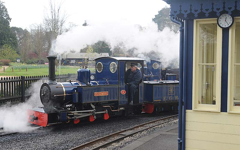 Exbury steam railway