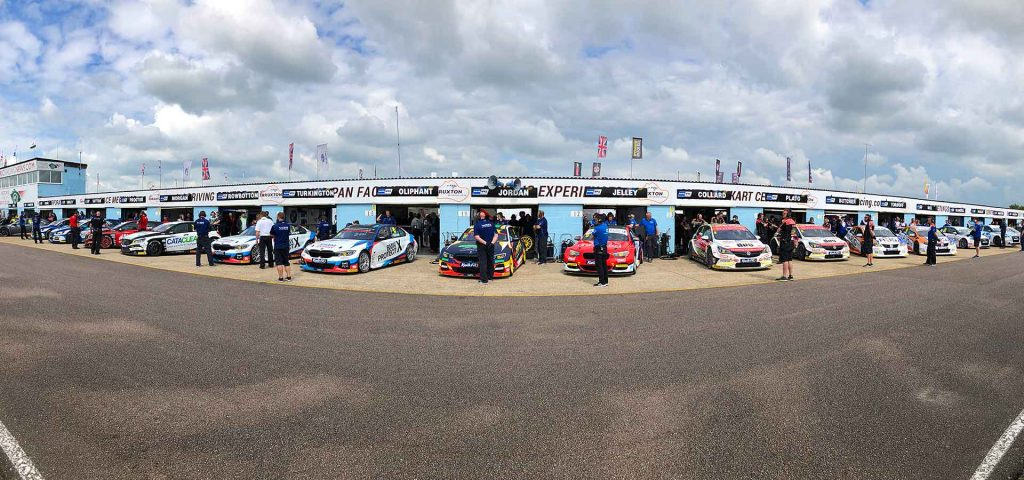 BTCC at Thruxton