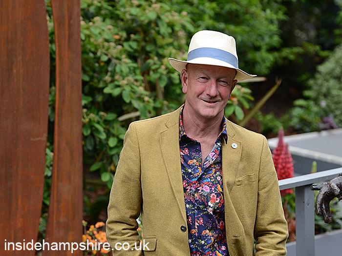 Andy McIndoe in Jardin Blanc